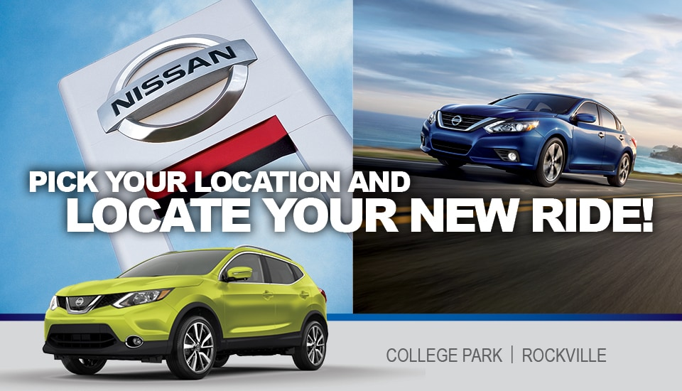 If Youu0027re Looking For A New Or Used Nissan Near Washington DC, Visit One Of  Our DARCARS Nissan Dealerships