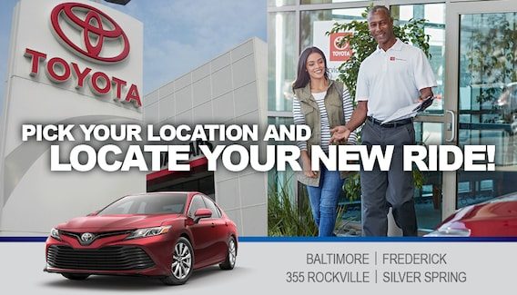 DARCARS Toyota Dealerships in Maryland
