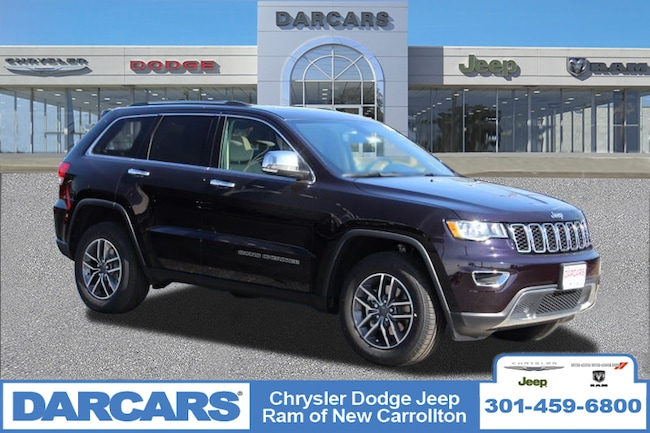 New 2019 Jeep Grand Cherokee LIMITED 4X4 Sport Utility in New Carrollton, Maryland