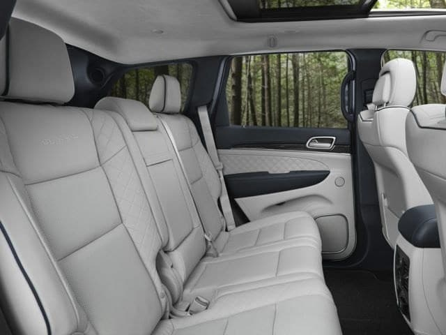 2018 Jeep Grand Cherokee Rear Interior