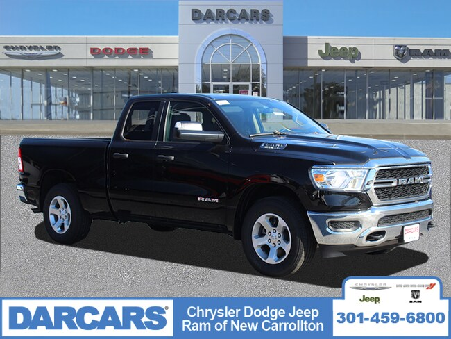 New 2019 Ram 1500 TRADESMAN QUAD CAB 4X4 6'4 BOX Quad Cab in New Carrollton, Maryland