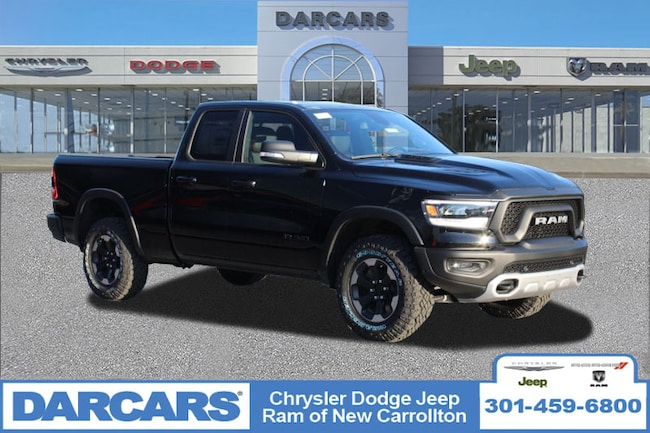 New 2019 Ram 1500 REBEL QUAD CAB 4X4 6'4 BOX Quad Cab in New Carrollton, Maryland