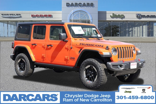 cddc1a3f New 2019 Jeep Wrangler UNLIMITED RUBICON 4X4 Sport Utility in New  Carrollton, Maryland