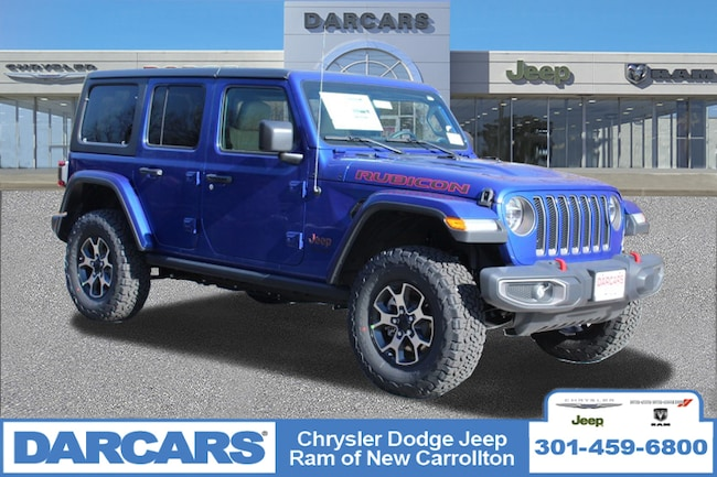 New 2019 Jeep Wrangler UNLIMITED RUBICON 4X4 Sport Utility in New Carrollton, Maryland