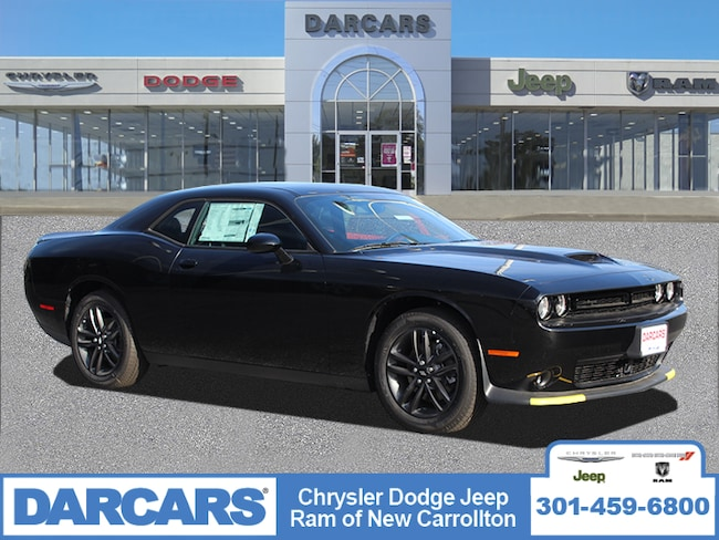 New 2019 Dodge Challenger GT AWD Coupe in New Carrollton, Maryland