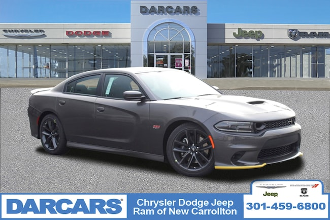 New 2019 Dodge Charger SCAT PACK RWD Sedan in New Carrollton, Maryland