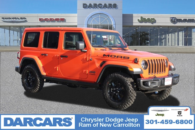 New 2018 Jeep Wrangler UNLIMITED MOAB 4X4 Sport Utility in New Carrollton, Maryland