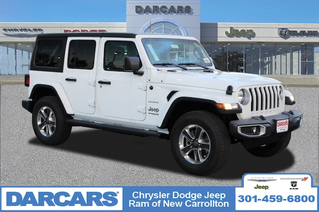 New 2018 Jeep Wrangler UNLIMITED SAHARA 4X4 Sport Utility in New Carrollton, Maryland