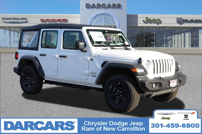 New 2018 Jeep Wrangler UNLIMITED SPORT 4X4 Sport Utility in New Carrollton, Maryland
