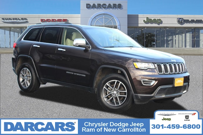 Certified 2017 Jeep Grand Cherokee Limited SUV