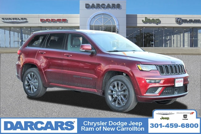 New 2019 Jeep Grand Cherokee HIGH ALTITUDE 4X4 Sport Utility in New Carrollton, Maryland