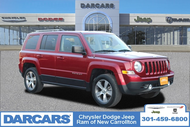 Jeep Patriot High Altitude >> Used 2016 Jeep Patriot High Altitude Edition For Sale New Carrollton