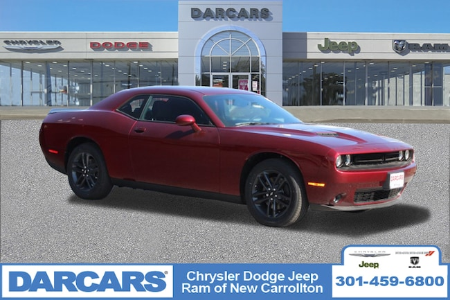 New 2019 Dodge Challenger SXT AWD Coupe in New Carrollton, Maryland
