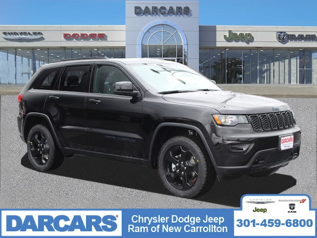 New 2019 Jeep Grand Cherokee UPLAND 4X4 Sport Utility in New Carrollton, Maryland