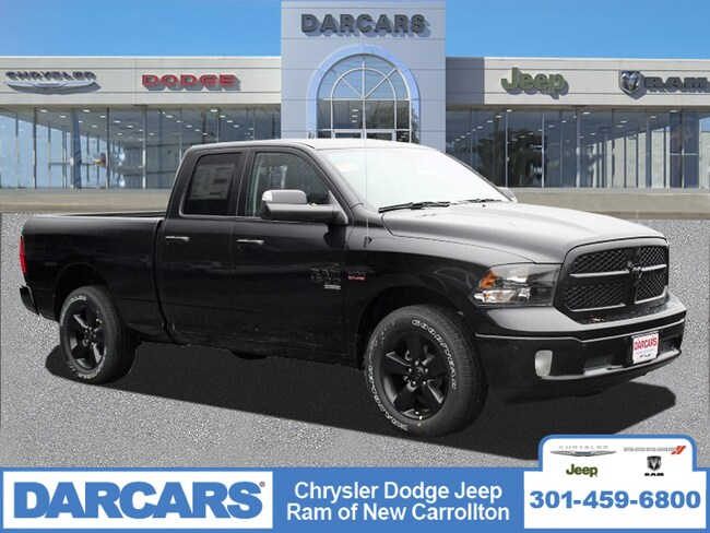 New 2019 Ram 1500 CLASSIC BIG HORN QUAD CAB 4X4 6'4 BOX Quad Cab in New Carrollton, Maryland