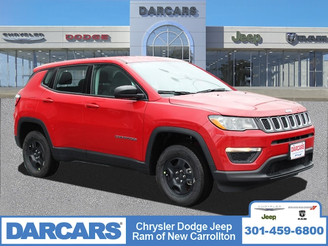 New 2019 Jeep Compass SPORT 4X4 Sport Utility in New Carrollton, Maryland