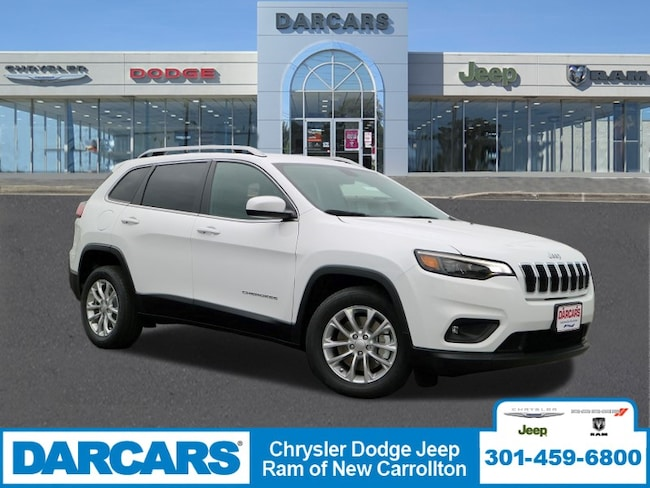 New 2019 Jeep Cherokee LATITUDE FWD Sport Utility in New Carrollton, Maryland