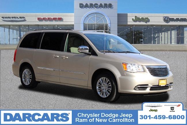 Certified 2015 Chrysler Town & Country Touring-L Minivan/Van