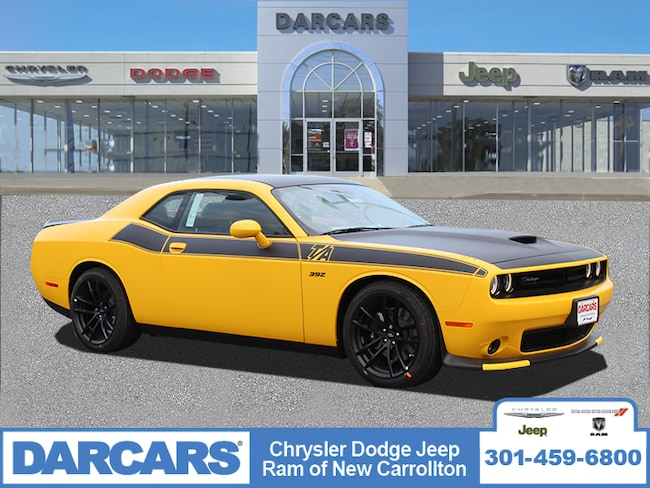 New 2019 Dodge Challenger R/T SCAT PACK Coupe in New Carrollton, Maryland