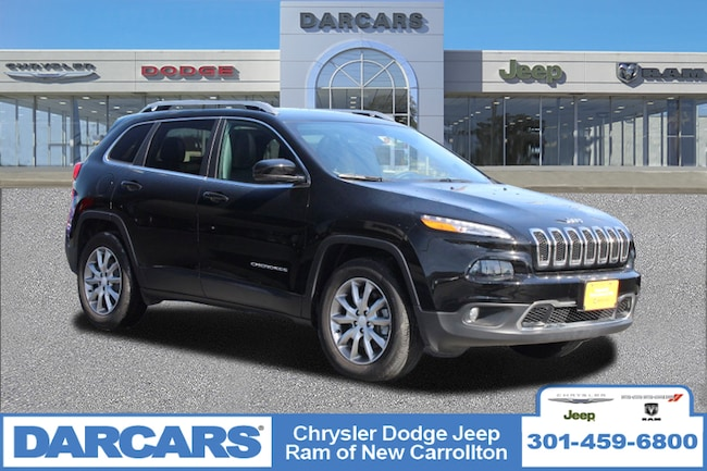 Certified 2018 Jeep Cherokee Limited SUV