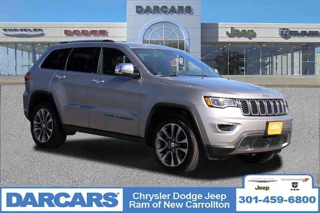 Certified 2018 Jeep Grand Cherokee Limited SUV