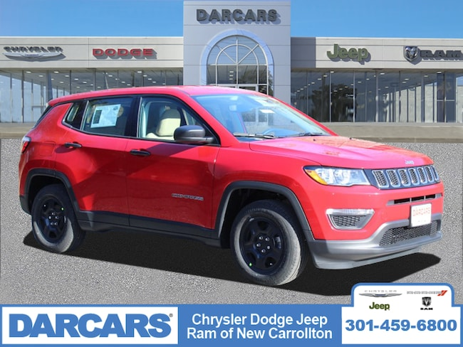 New 2019 Jeep Compass SPORT FWD Sport Utility in New Carrollton, Maryland