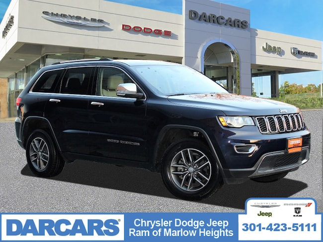 Used 2018 Jeep Grand Cherokee Limited SUV Temple Hills
