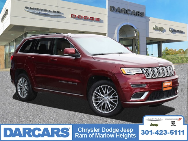 Certified 2017 Jeep Grand Cherokee Summit SUV in Temple Hills