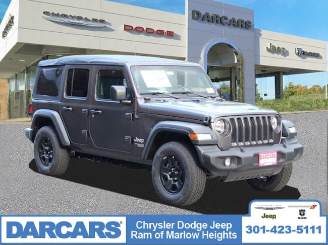 New 2018 Jeep Wrangler UNLIMITED SPORT 4X4 Sport Utility in Temple Hills, MD