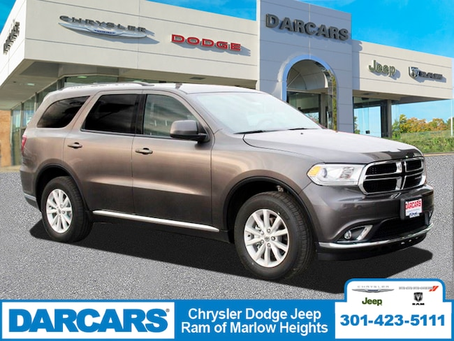 New 2019 Dodge Durango SXT PLUS AWD Sport Utility in Temple Hills, MD