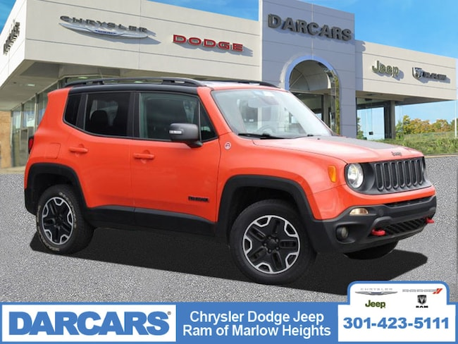 Used 2015 Jeep Renegade Trailhawk SUV Temple Hills