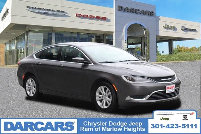 Used 2015 Chrysler 200 Limited Sedan Temple Hills