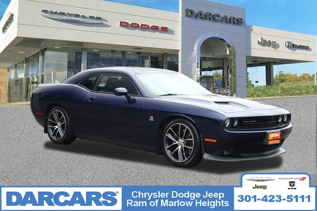 Certified 2016 Dodge Challenger R/T Scat Pack Coupe in Temple Hills