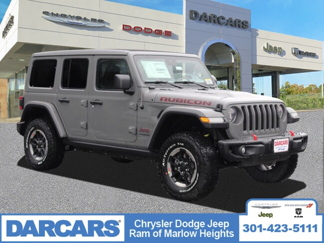 New 2019 Jeep Wrangler UNLIMITED RUBICON 4X4 Sport Utility in Temple Hills, MD