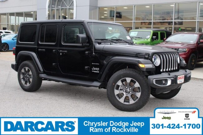 New 2018 Jeep Wrangler UNLIMITED SAHARA 4X4 Sport Utility in Temple Hills, MD
