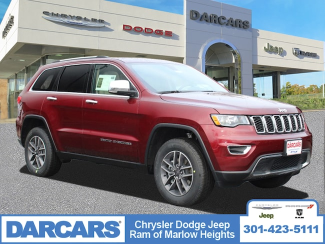 New 2019 Jeep Grand Cherokee LIMITED 4X4 Sport Utility in Temple Hills, MD