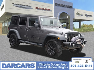 2016 Jeep Wrangler Unlimited Willys Wheeler SUV