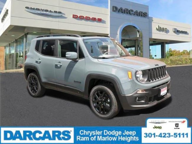New 2018 Jeep Renegade ALTITUDE 4X4 Sport Utility in Temple Hills, MD