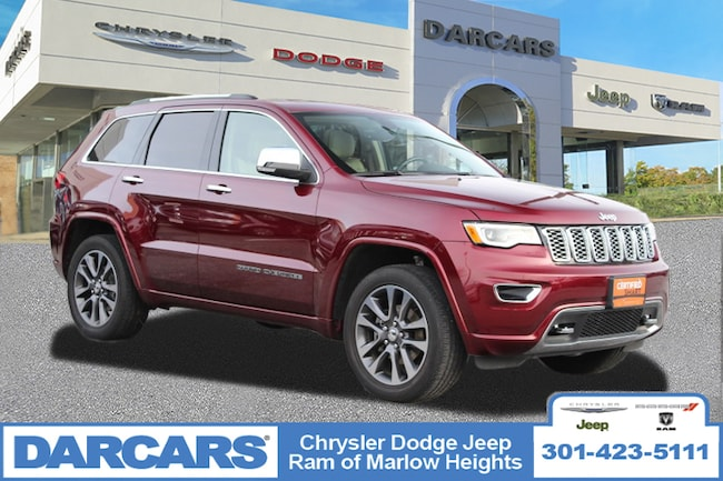 Certified 2017 Jeep Grand Cherokee Overland SUV in Temple Hills