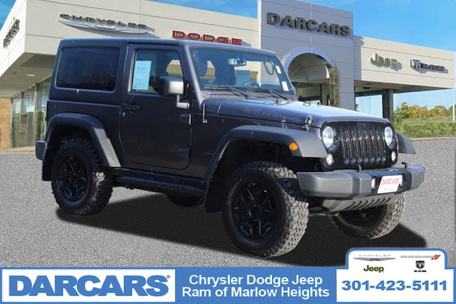 Used 2016 Jeep Wrangler Willys Wheeler Temple Hills