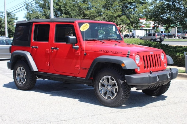 Used 2015 Jeep Wrangler Unlimited Rubicon Temple Hills