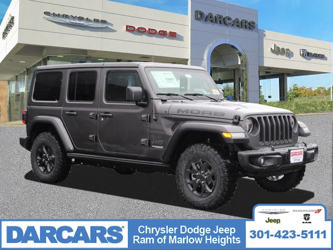 New 2019 Jeep Wrangler UNLIMITED MOAB 4X4 Sport Utility in Temple Hills, MD