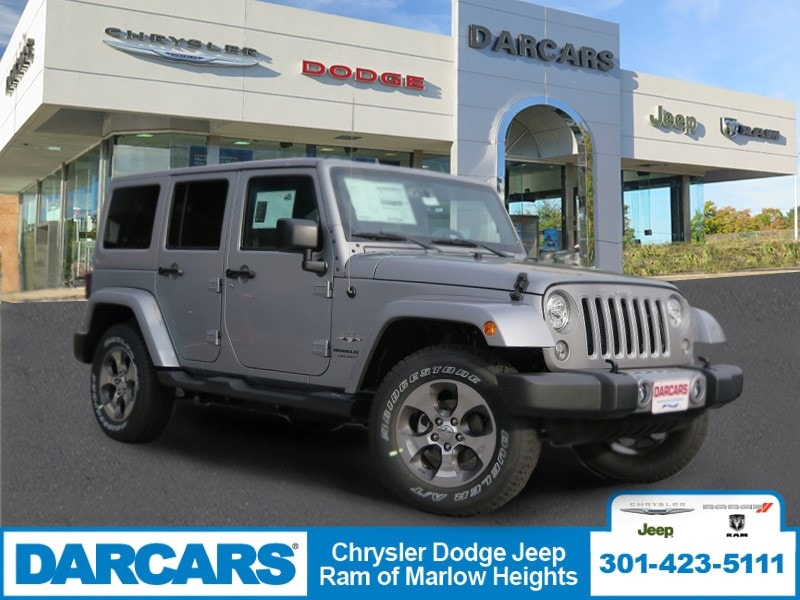 New 2018 Jeep Wrangler Unlimited WRANGLER JK UNLIMITED SAHARA 4X4 In Temple  Hills