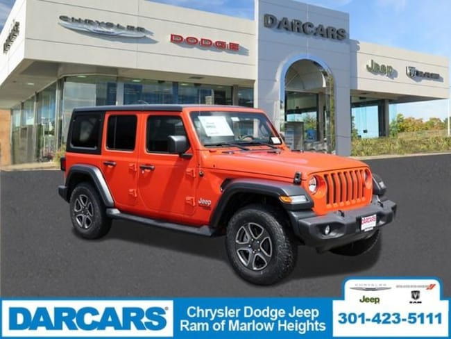 New 2018 Jeep Wrangler UNLIMITED SPORT S 4X4 Sport Utility in Temple Hills, MD