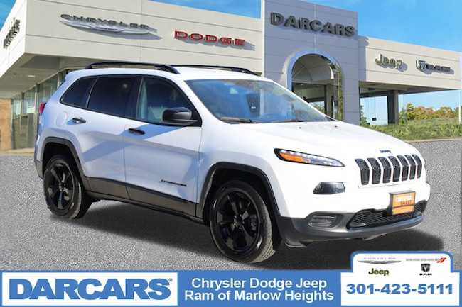 Certified 2017 Jeep Cherokee Altitude in Temple Hills