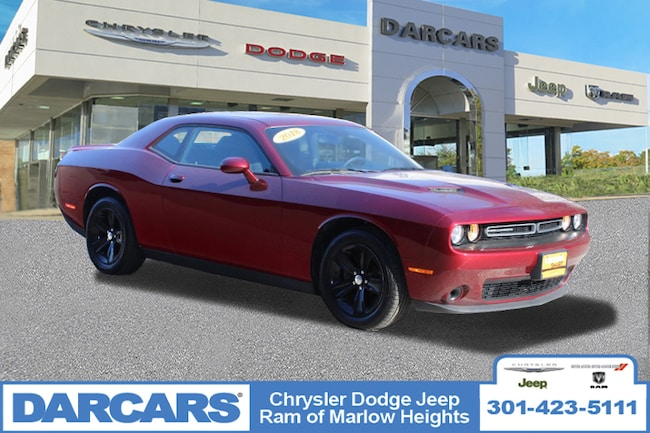 Certified 2018 Dodge Challenger SXT Coupe in Temple Hills