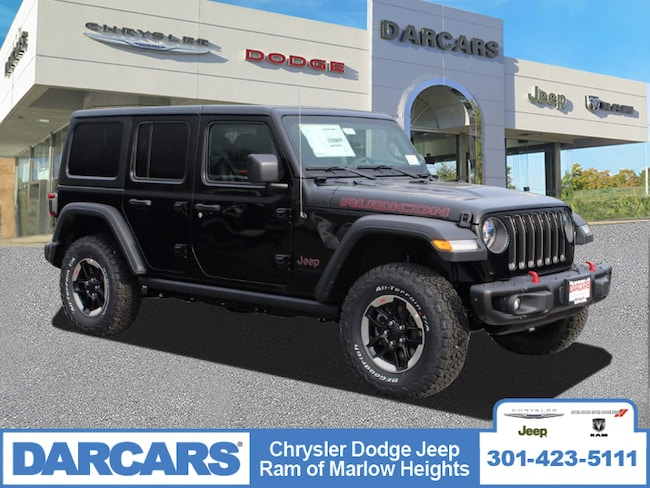 New 2018 Jeep Wrangler UNLIMITED RUBICON 4X4 Sport Utility in Temple Hills, MD