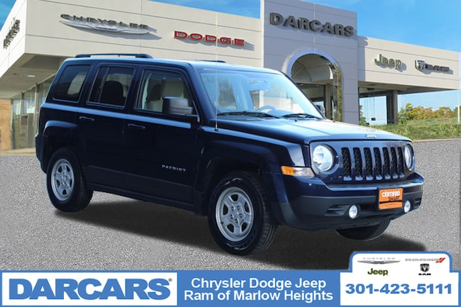 Certified 2016 Jeep Patriot Sport SUV in Temple Hills