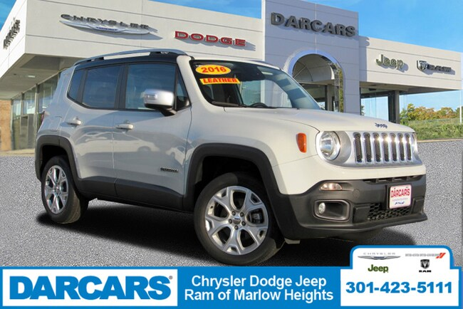 Used 2016 Jeep Renegade Limited SUV Temple Hills