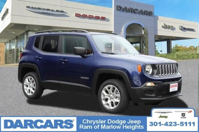 New 2018 Jeep Renegade SPORT 4X4 Sport Utility in Temple Hills, MD